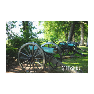 Cannons of Gettysburg National Military Park Canvas Print