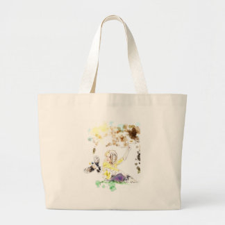 cannot catch a dream large tote bag
