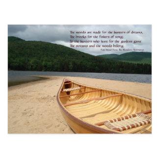 Canoe at Water s Edge Postcard