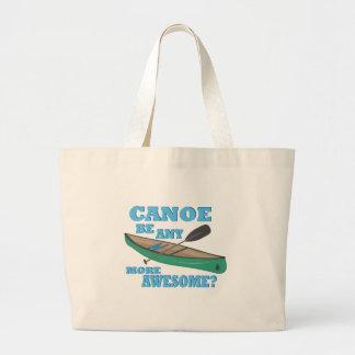 Canoe Awesome Large Tote Bag