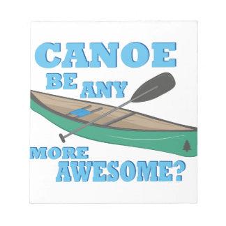 Canoe Awesome Notepad
