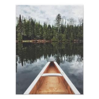 Canoe - BWCA Photo Print