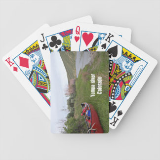 Canoe Camping, Yampa River, CO Bicycle Playing Cards
