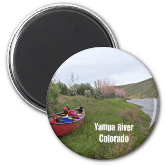 Canoe Camping, Yampa River, CO Magnet