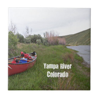 Canoe Camping, Yampa River, CO Tile