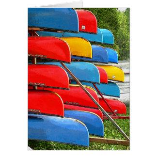 Canoe Cart Card