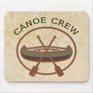 Canoe Crew Canoeing Sports Mouse Pad