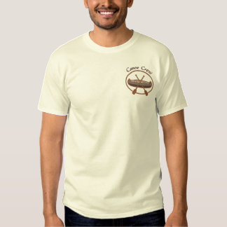 Canoe Crew Canoeing Water Sports Embroidered T-Shirt