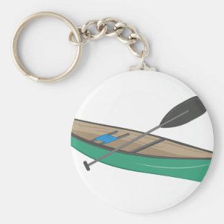 Canoe Keychain