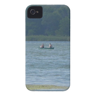 Canoe on the water iPhone 4 covers