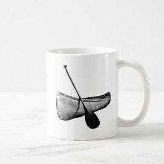 Canoe & Paddle Basic White Mug