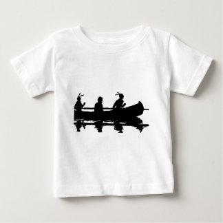 Canoe Silhouette Baby T-Shirt