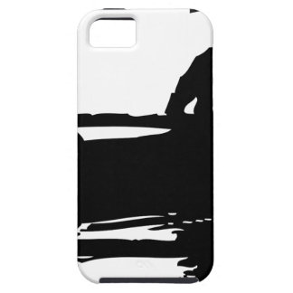 Canoe Silhouette iPhone 5 Covers
