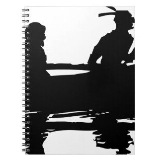 Canoe Silhouette Notebooks