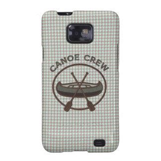 Canoe Sports Logo on Herringbone Samsung Galaxy SII Cases