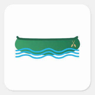 Canoe Square Sticker