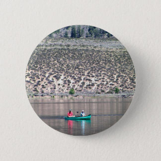 Canoe the Similkameen River in BC, Canada 2 Inch Round Button