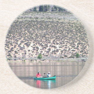 Canoe the Similkameen River in BC, Canada Beverage Coasters
