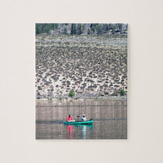 Canoe the Similkameen River in BC, Canada Jigsaw Puzzle