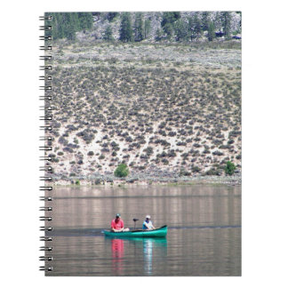 Canoe the Similkameen River in BC, Canada Spiral Notebook