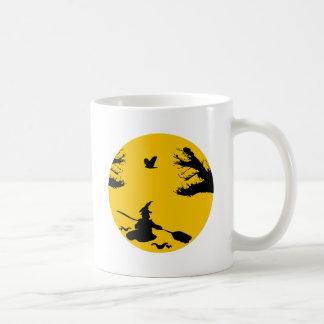 Canoe witch coffee mug