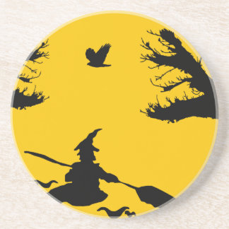 Canoe witch drink coasters