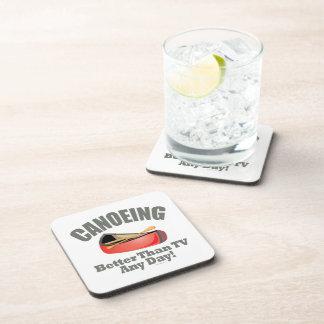 Canoeing Drink Coaster
