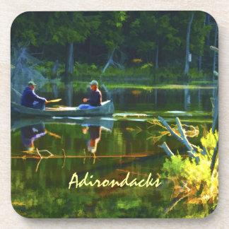 Canoeing in the Adirondacks Coasters
