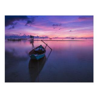 Canoeing Kayaking Sailing Fishing - is Life Postcard