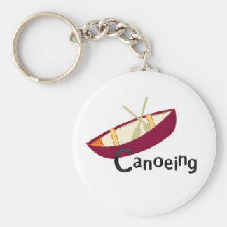 Canoeing Keychain