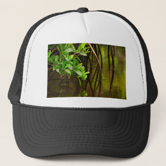 Canoeing Through Quiet Mangroves Trucker Hat