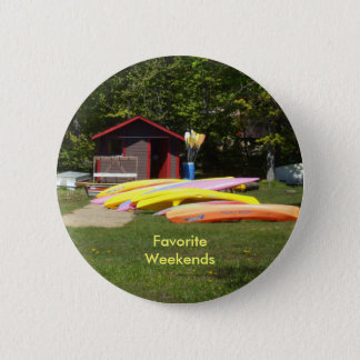 Canoes 2 Inch Round Button