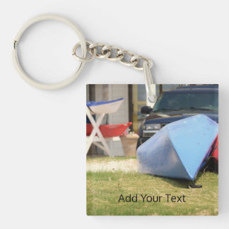 Canoes And Kayaks by Shirley Taylor Keychain