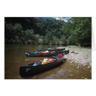 Canoes Card