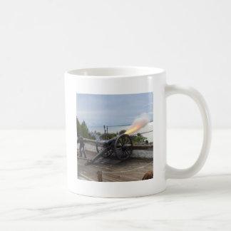 Canon Firing Coffee Mug