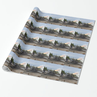 Canon Firing Wrapping Paper