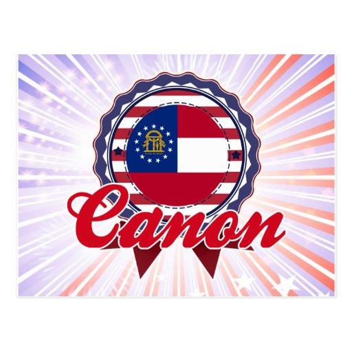 Canon, GA Post Card