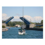 Canotage dans Charlevoix, Michigan Posters