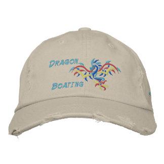 Canotage de dragon, sports de dragon du soleil, casquettes de baseball brodées