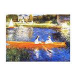 Canotage sur la Seine Renoir Toiles Tendues
