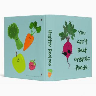 Can't Beet Organic Recipe Binder