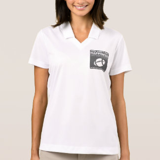 Can't Buy Happiness Football Polo T-shirts