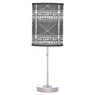 Can't Buy Happiness Hockey Desk Lamp