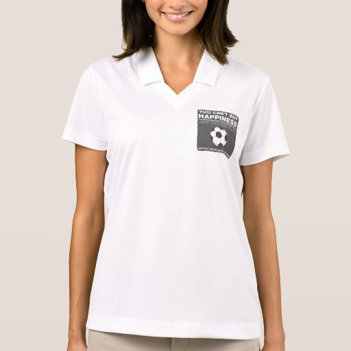 Can't Buy Happiness Soccer Polo Shirt