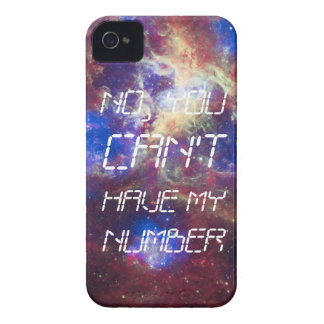 cant have my number iPhone 4 Case-Mate case