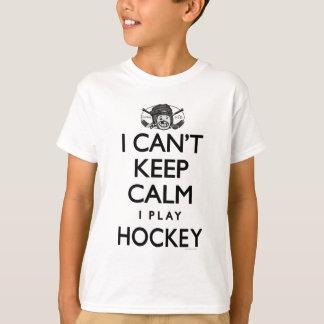 Can't Keep Calm Hockey T-Shirt