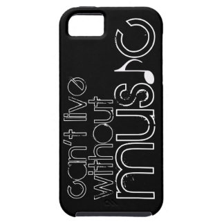 can't live without music iPhone 5 cases