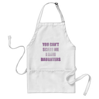 Cant scare me standard apron