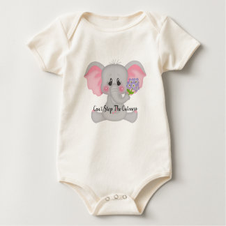 Can't Stop The Cuteness Organic Bodysuit