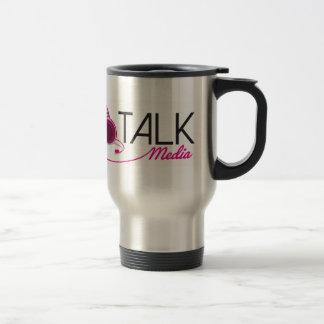 Can't Talk Logo Stainless Steel 15 oz Travel Mug